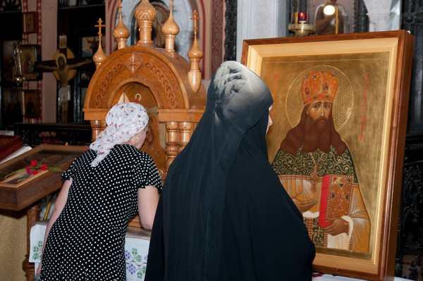 Икона преподобноисповедника Сергия Серебрянского передана в дар Гефсиманской обители в Иерусалиме