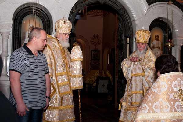 Приветственное слово Архиепископа Тверского Виктора. 7 ноября 2010