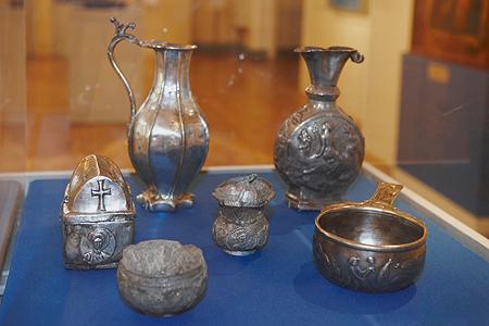 Художественные изделия из серебра VI-VII веков