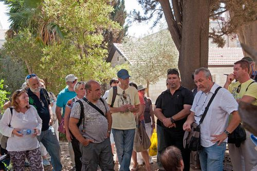 На Сергиевском подворье в Иерусалиме. Фотоархив © Иерусалимское отделение ИППО