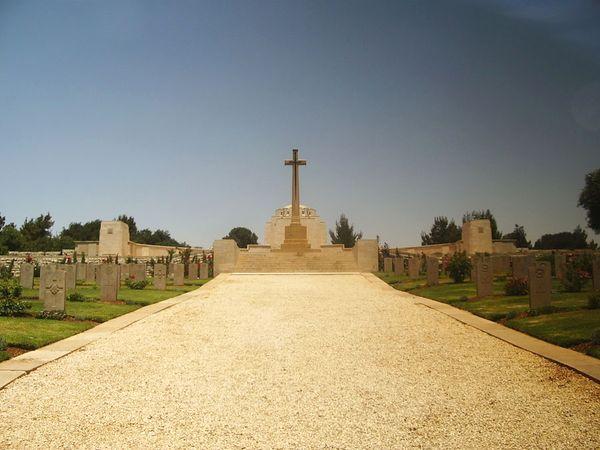Британское военное кладбище на горе Скопус в Иерусалиме