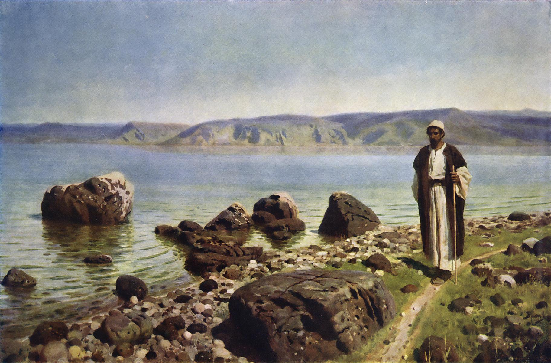 Выставка картин, повторяющих земной путь христа | радио прага.