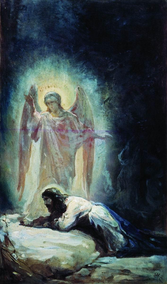 "Моление о чаше (""Явился же Ему Ангел с ...: http://www.ippo.ru/christian-culture/evangelie/str/3/"