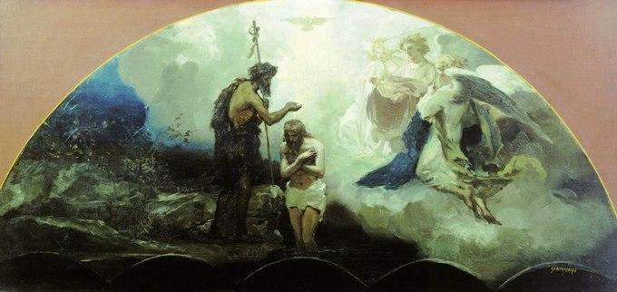 Крещение Господне. Г.И. Семирадский. 1876