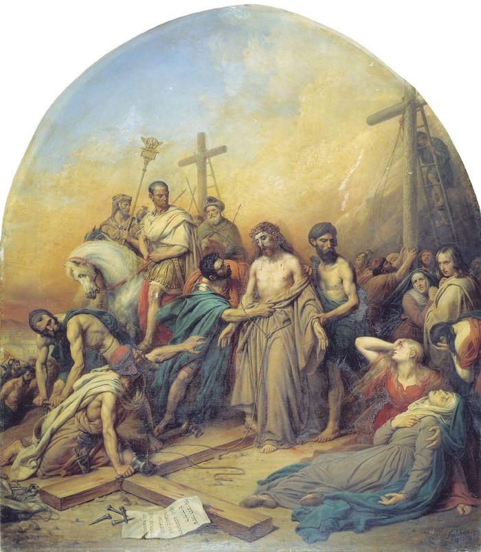 Распятие в русской живописи