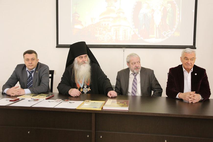В Печерском монастыре состоялась презентация книг членов ИППО