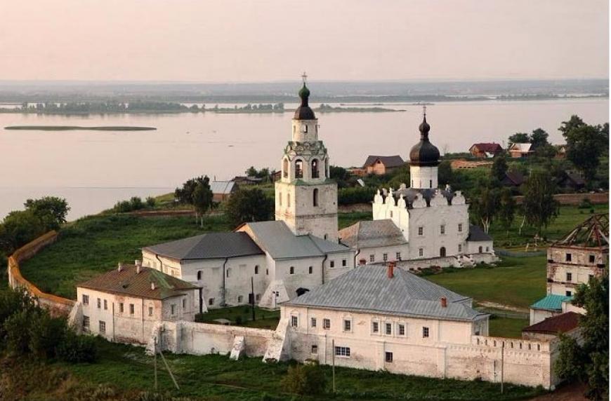 Картинки по запросу соборы остров град свияжск