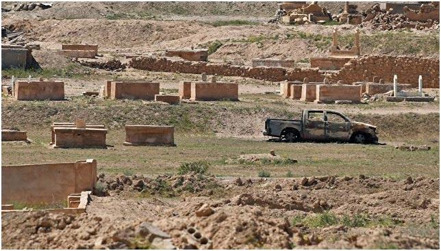 Сирийские войска освободили старинный город Расафа