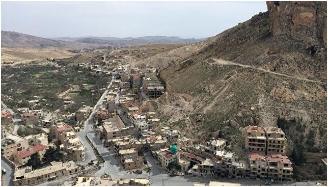 ВСАР начали восстанавливать христианский храмовый комплекс Маалюля