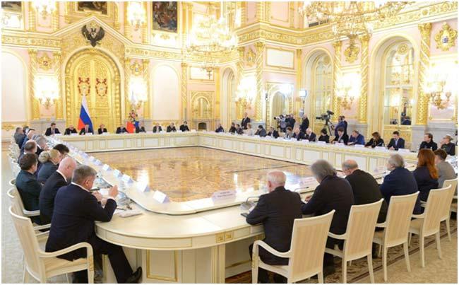 Путин предложил создать новый закон окультуре