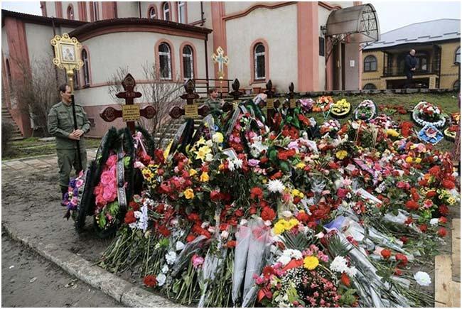 «Анжи» собрал деньги семьям жертв нападения вКизляре