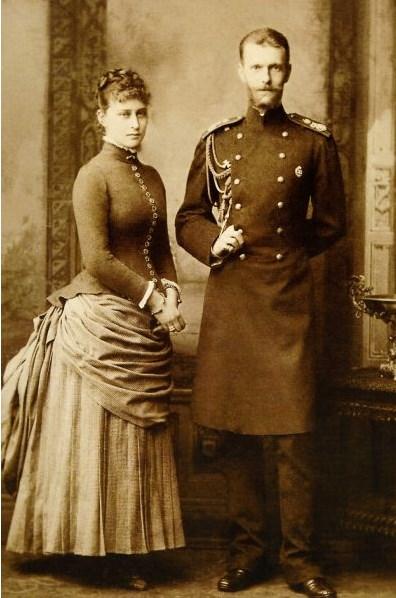 Великая княгиня Елизавета Федоровна и Великий князь Сергей Александрович