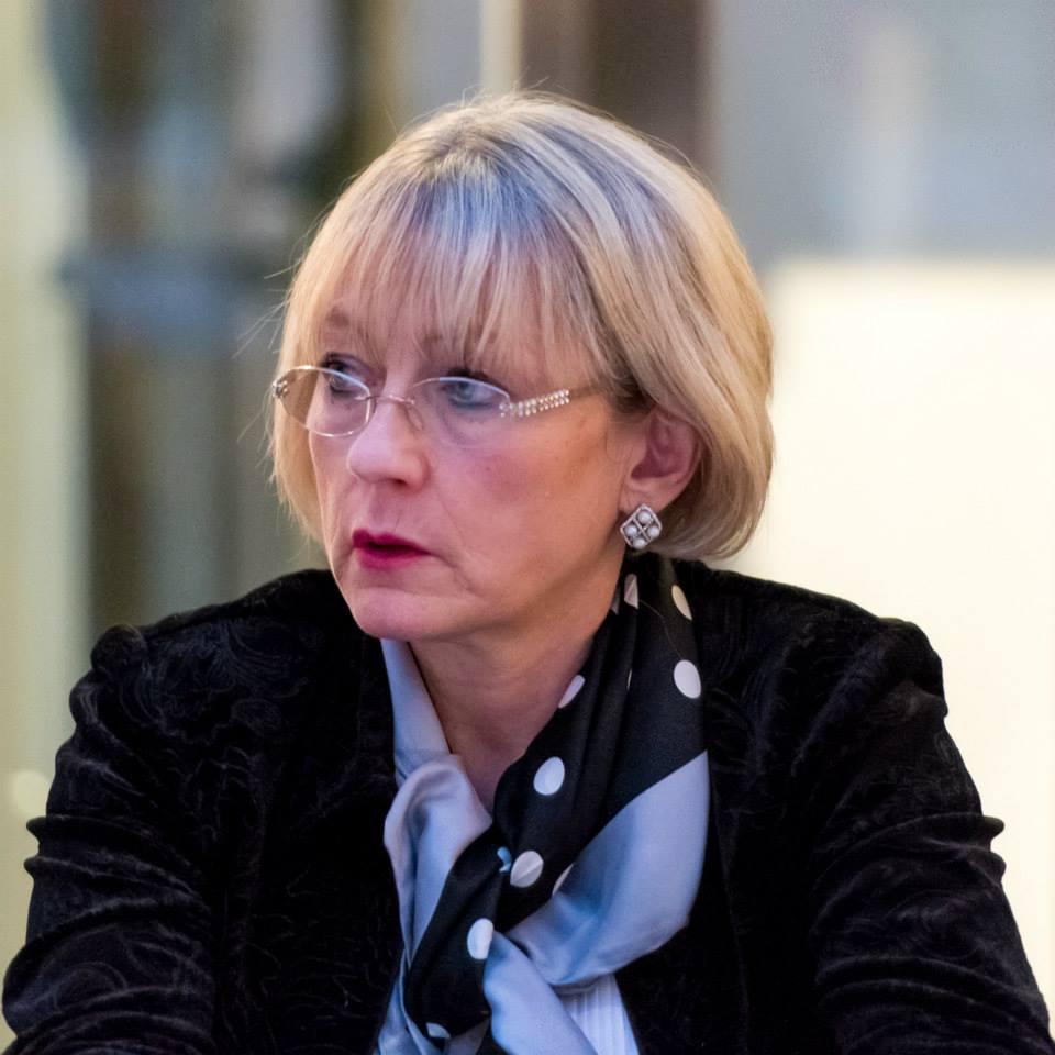 Заместитель Председателя ИППО,  руководитель Общественного Центра ИППО по защите христиан на Ближнем Востоке и в Северной Африке Елена Агапова