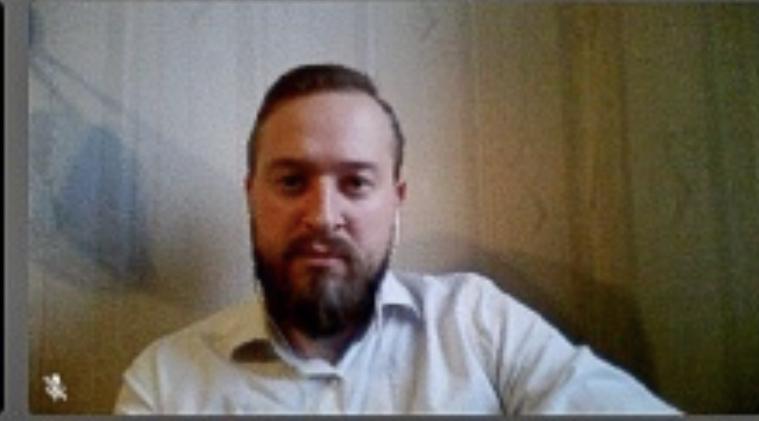 Руководитель молодежной секции ИППО Олег Робинов