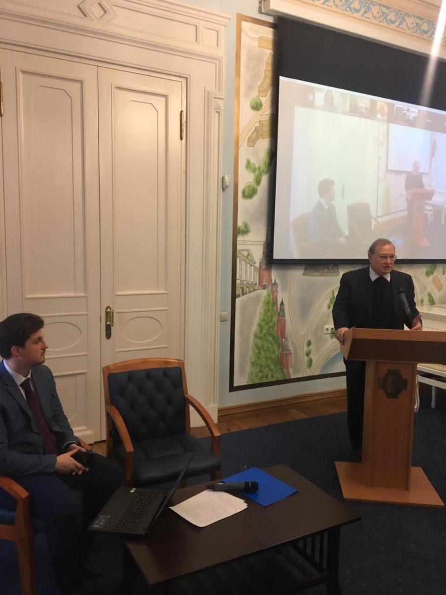 Заседание Международной секции ИППО с новым руководителем