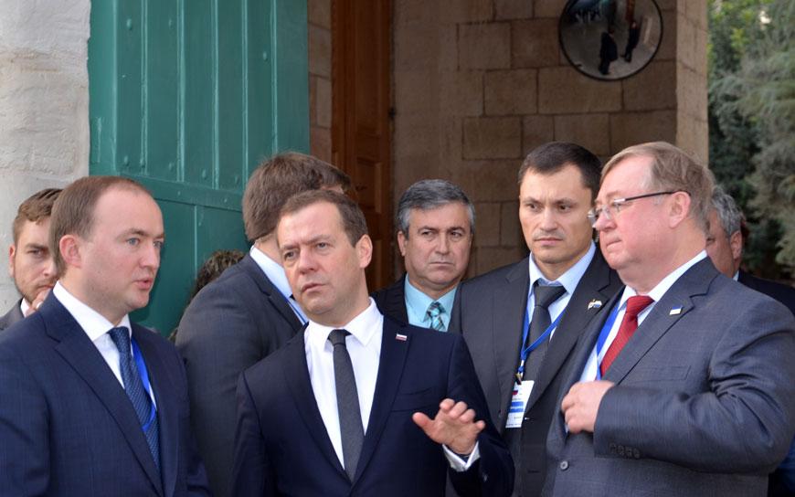 ВПалестине откроют улицу Дмитрия Медведева